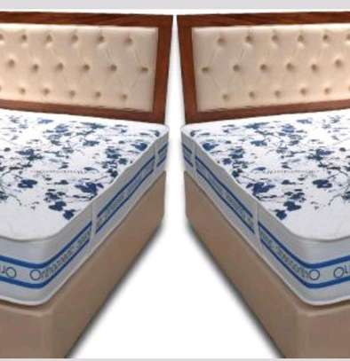 King size 6 by 6 Orthopaedic/Posturepaedic 10 thick Quilted brand new MATTRESS free delivery image 1