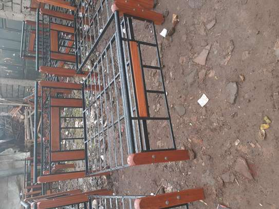 Metal and steel beds image 1