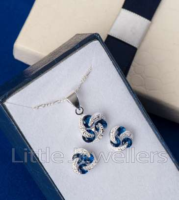 Sterling silver necklace sets perfect for mother's day!! image 6