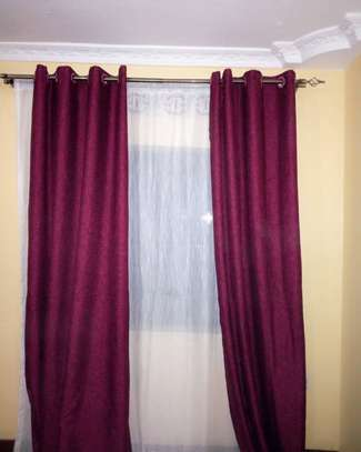 colourful curtains and sheers. image 5