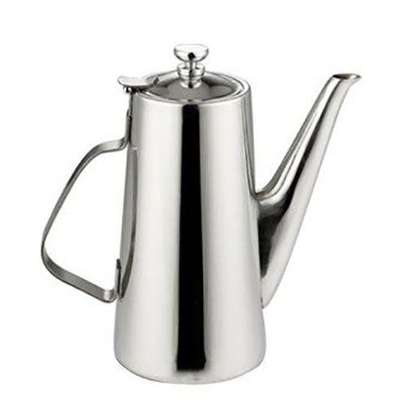 2L Stainless Steel Water Coffee Pot Ice Tea Jug - Silver image 1