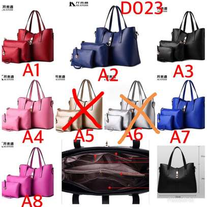 3 in 1 leather handbags image 2