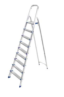 Aluminium Ladder 9step image 1