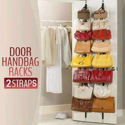Adjustable bag rack. image 1