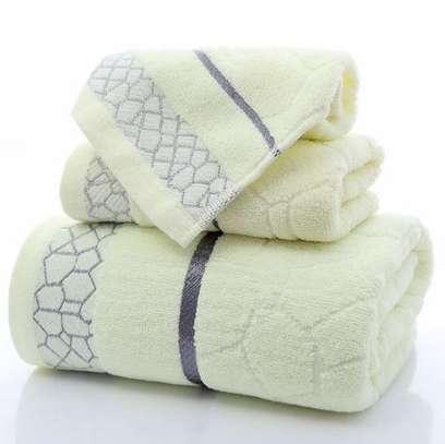 Generic 3 piece cotton towels image 1