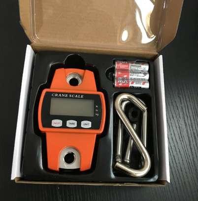 300kg recommended  Mini Crane Digital Scale. image 1