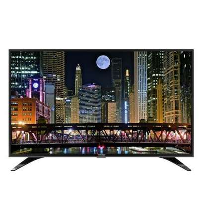 "Tornado - 43"" LED TV With Built-In Receiver - Black"