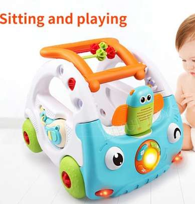 Baby 3in1 Baby Walker & Discovery Car image 3