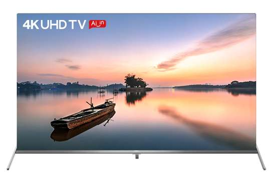 """VISION PLUS 49"""" 4K UHD SMART ANDROID TV,IN-BUILT WI-FI,NETFLIX,YOUTUBE VP-8849S-BLACK image 1"""