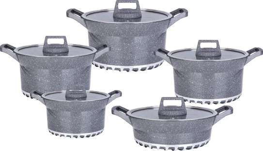 10pcs BOSCH Germany Brand Granite Cooking Pots image 4