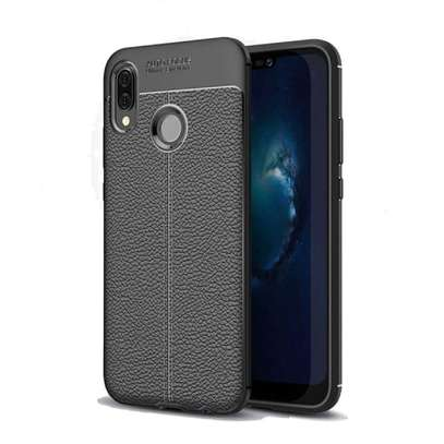 Auto Focus Leather Pattern Soft TPU Back Case Cover for Samsung M10 M20 M30 image 11