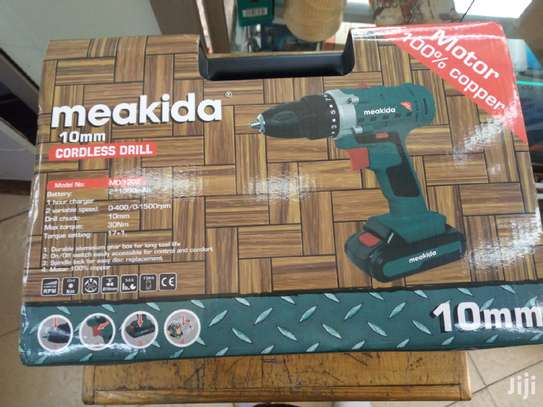 MEAKIDA CORDLESS DRILL image 1