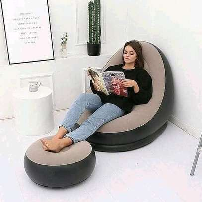 Inflatable Seats with Foot Rest image 4