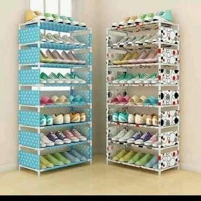 Single storage shoe rack image 3