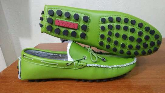 Green Tods Loafers image 1