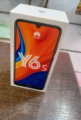 Huawei Y6s, 6.09'', 3GB+64GB, 13MP Camer, Black ( Dual SIM) 4G image 1
