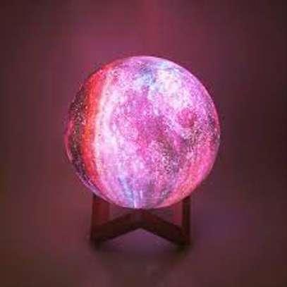 18cm Moon Lamp Kids Night Light Galaxy Lamp image 1