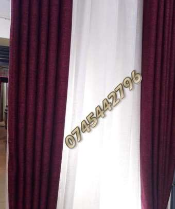 PLAIN SUPER QUALITY CURTAINS AND SHEERS image 14
