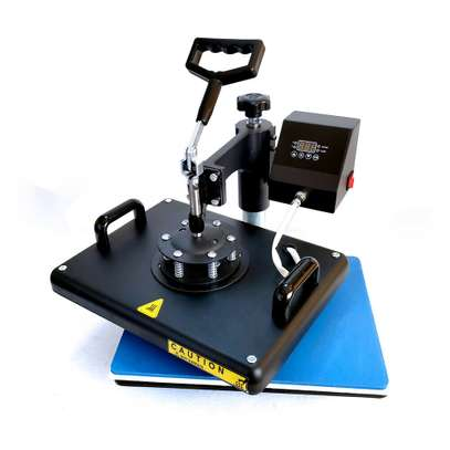 """Combo Heat Press Machine Digital 12x15in"""" for T-shirt Mugs Plate Hats Cup image 7"""