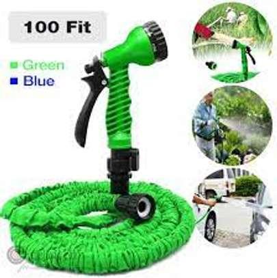 Magic Hose Pipe 30m/100ft Garden Water Green image 3