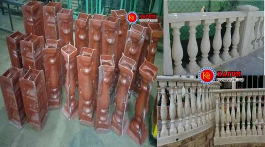 Balustrade mold
