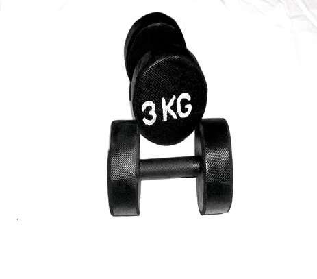 3kgs dumbbells set image 1