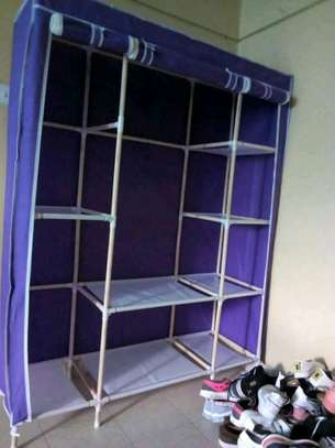 Portable wooden wardrobes image 6