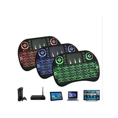 Generic Ergonomic Wireless Keyboard Lightweight 2.4G Multimedia With Touchpad image 1