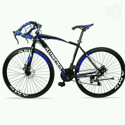 Blue/black Aomena bike/bicycle