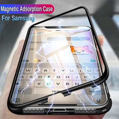 Magnetic Double-sided 360 Full Protection Glass Case for Samsung A71  A51 image 3