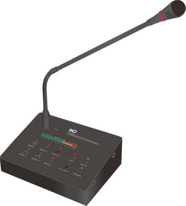 ITC T-216 Remote Paging Microphone for 6-zone Series image 1