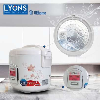 3-in-1 Electric Rice Cooker 1.8ltrs 700w image 3