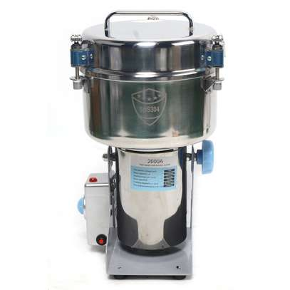 Commercial Electric Herb Grain Grinder Cereal Powder Flour Mill Grinding Machine image 1
