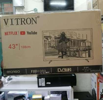 43 Inches Smart Digital LED Vitron TV image 1
