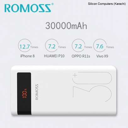 Romoss Powerbank Sense 8 30000 MAh Fast Charge 3Input Port Power Bank image 4
