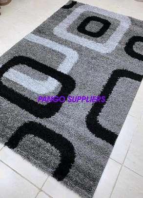 Turkish shaggy carpets(6'9) image 1