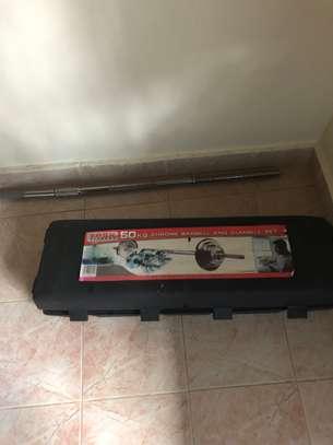 50kg Barbell and Dumbbell Set image 4