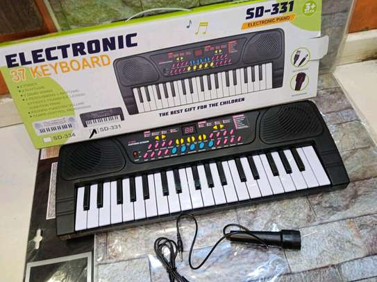37 keys electric kids keyboard image 1