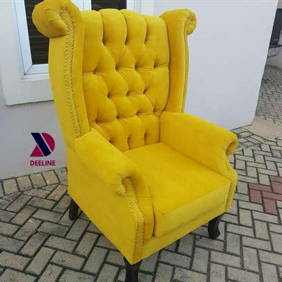 Wingback Accent Chairs. image 4