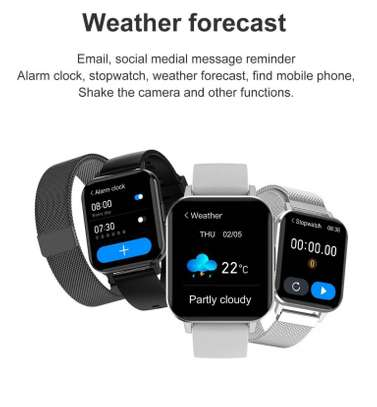 DX T Smart Watch Finess And Music Player image 3