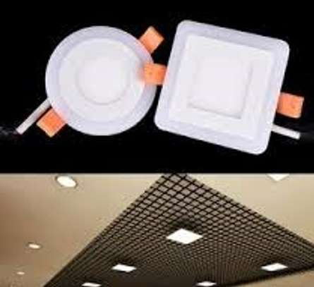 6W Ceiling Square LED Panel Light Downlight image 1