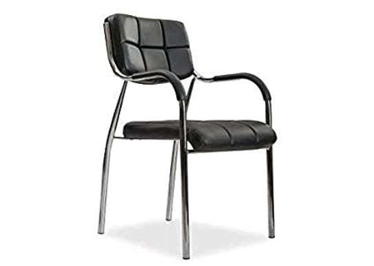Stainless steel office chair image 1
