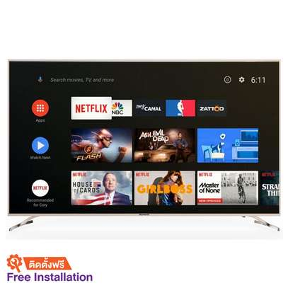 Skyworth 55 inches digital smart android 4k TV image 1