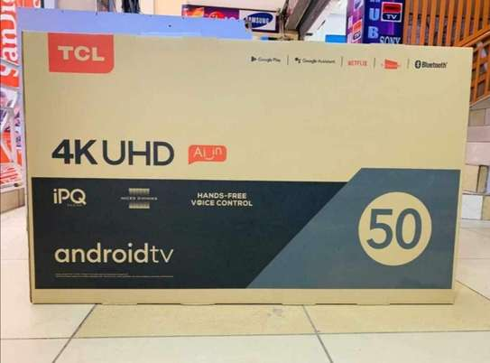 50 inch TCL Android smart UHD 4K smart - Ramadan offers image 1
