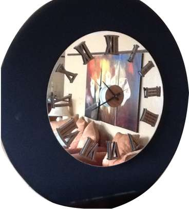 Wall Hanging Mirror-Clock