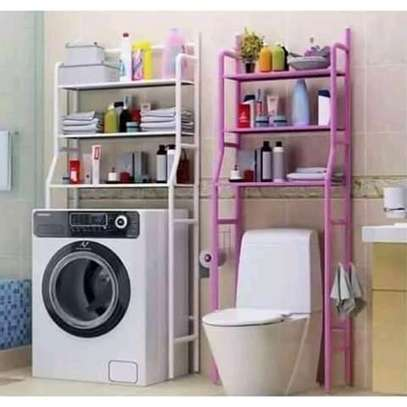 over the toilet bathroom storage organizer image 1