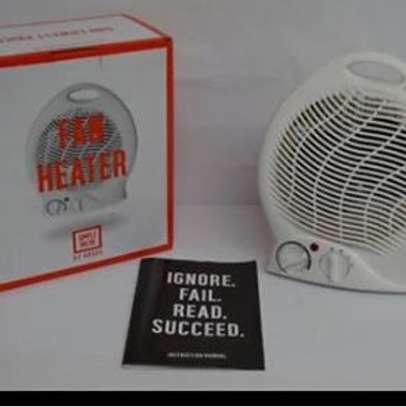 Electric quartz fan heater image 1