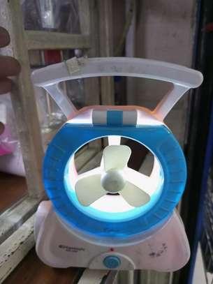 Unique fan with light image 1