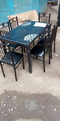 Reliable six seater dining table image 1