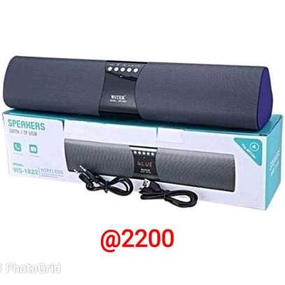 Wireless speaker with bluetooth radio and USB port image 2